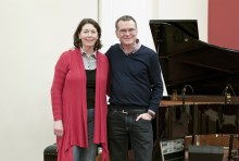 Valerie Roebuck and John Kirkby