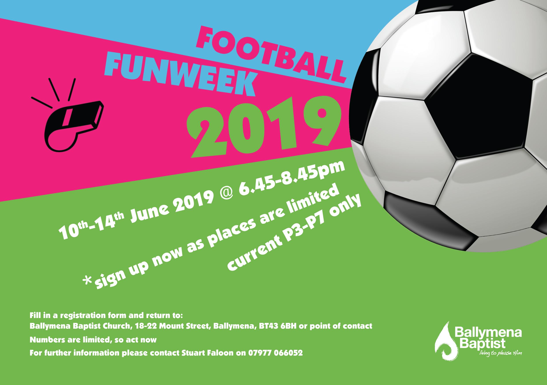 Football Fun Week @ Ballee Playing Fields