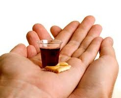 Communion after Morning Service